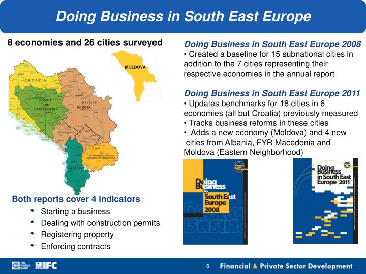 Doing Business in South East Europe