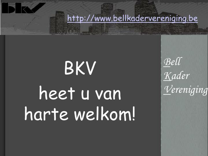 Http www bellkadervereniging be