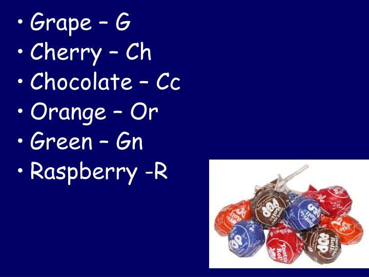 Grape – G