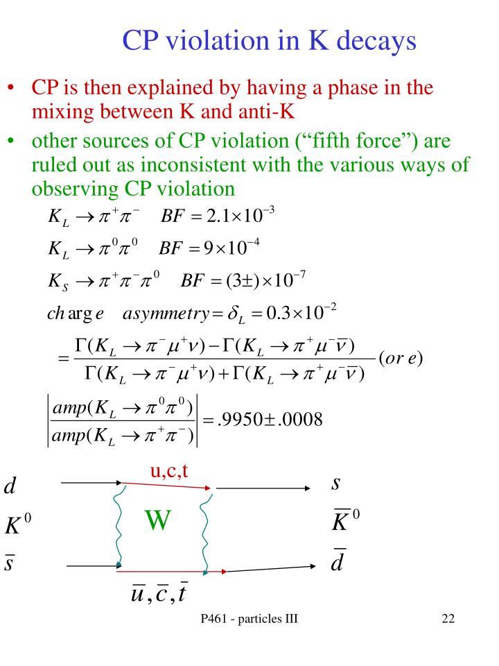 CP violation in K decays