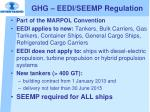 ghg eedi seemp regulation