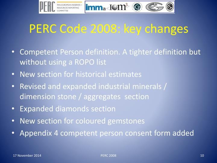 PERC 2008