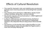 effects of cultural revolution3
