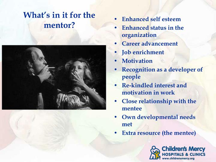 What's in it for the mentor?