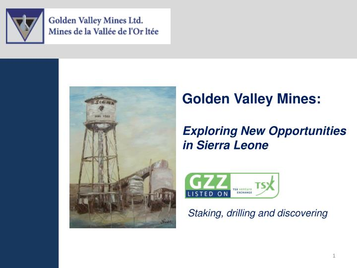 Golden Valley Mines: