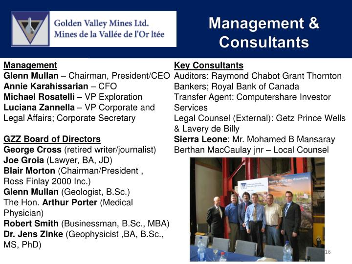 Management & Consultants