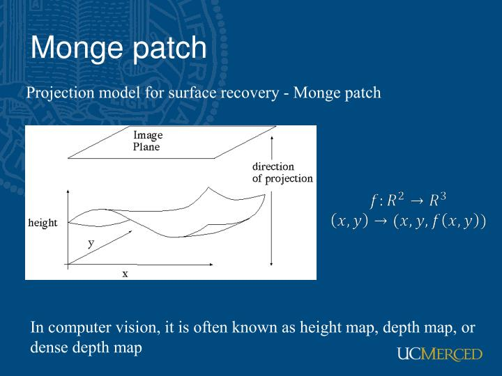 Monge patch