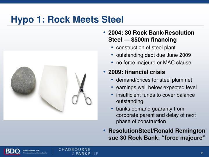 Hypo 1: Rock Meets Steel