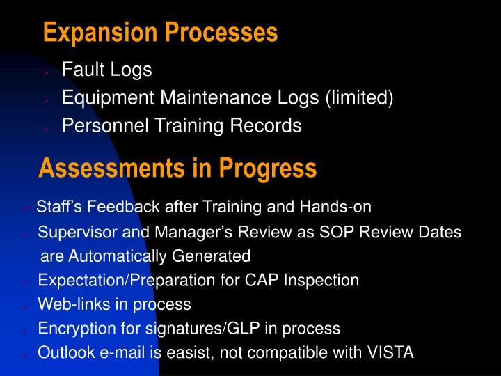 Expansion Processes
