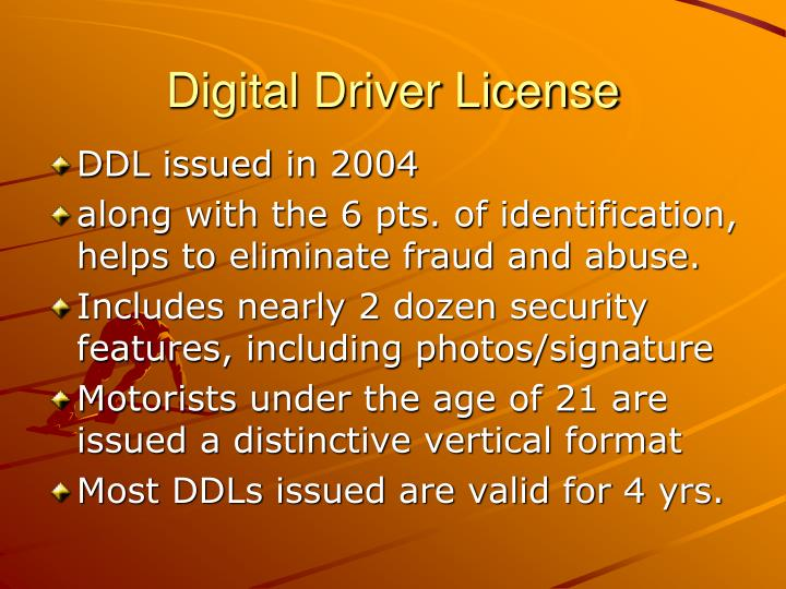 Digital Driver License