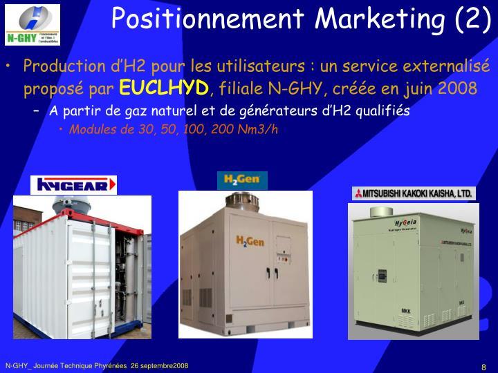 Production d'H2 pour les utilisateurs : un service externalisé proposé par