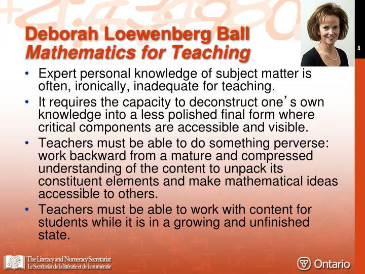 Deborah Loewenberg Ball