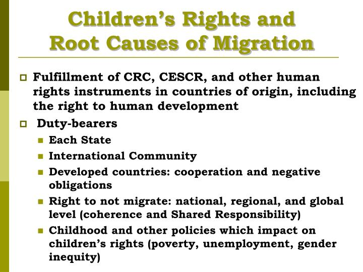 Children's Rights and