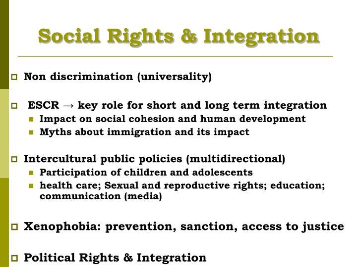 Social Rights &
