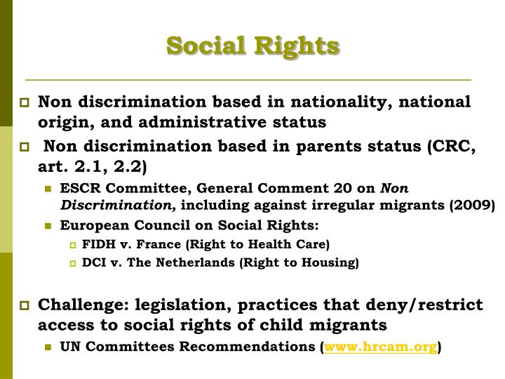 Social Rights