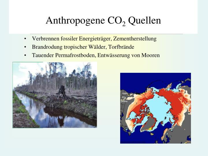 Anthropogene CO