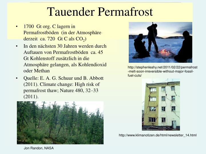 Tauender Permafrost