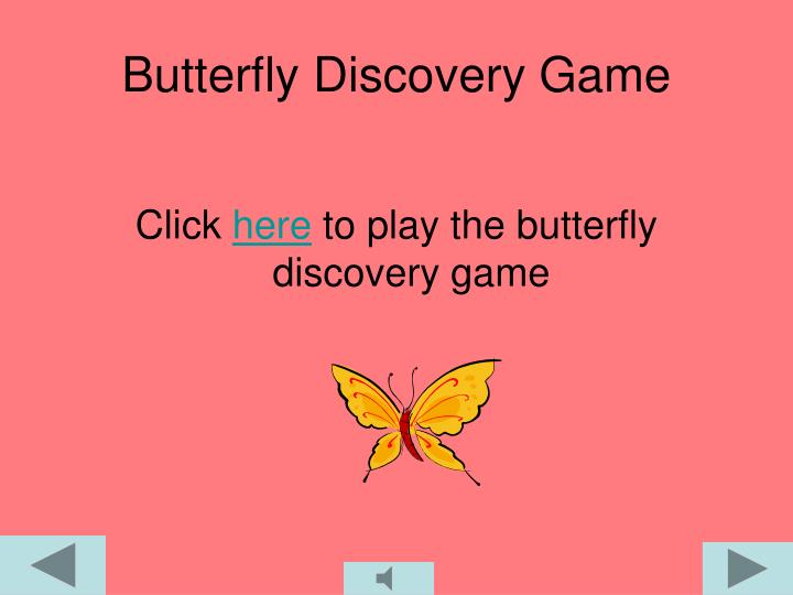 Butterfly Discovery Game
