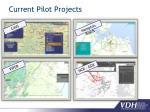 current pilot projects