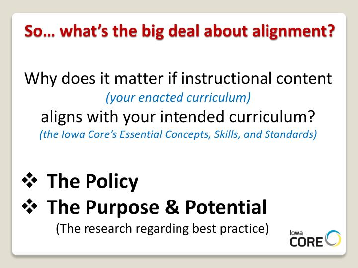 So… what's the big deal about alignment?