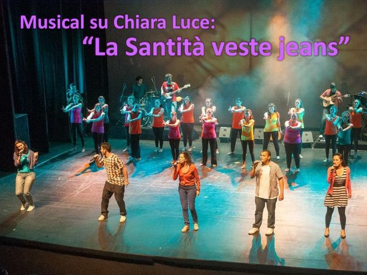 Musical su Chiara Luce: