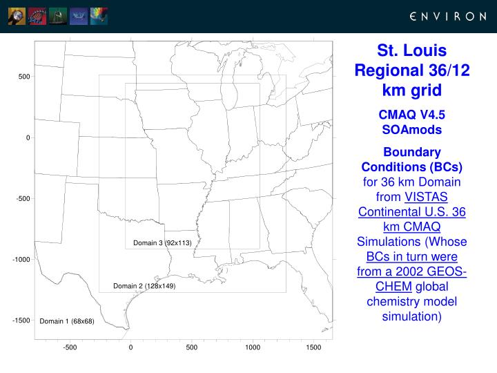 St. Louis Regional 36/12 km grid