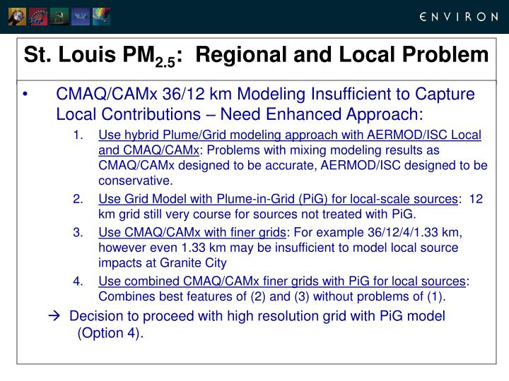 CMAQ/CAMx 36/12 km Modeling Insufficient to Capture Local Contributions – Need Enhanced Approach: