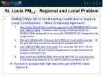 st louis pm 2 5 regional and local problem