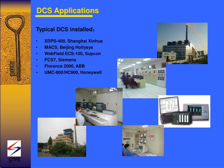 Typical DCS installed