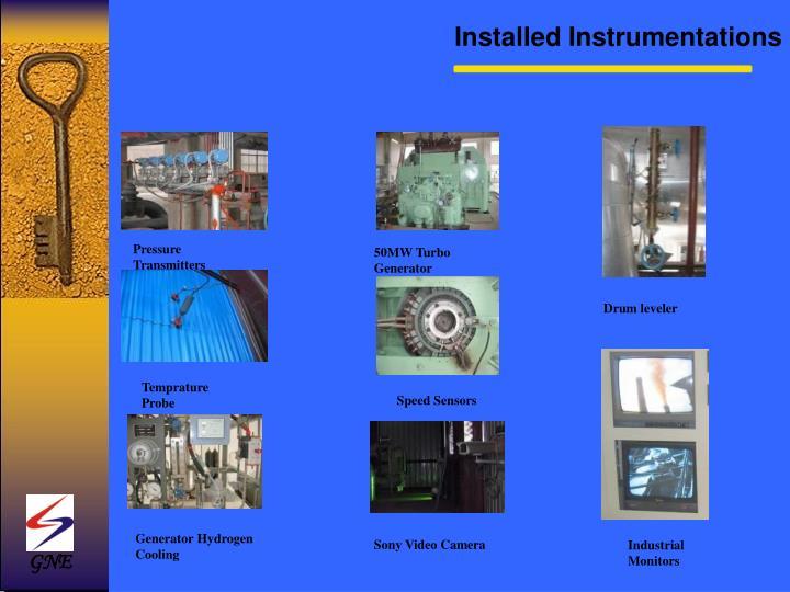 Installed Instrumentations