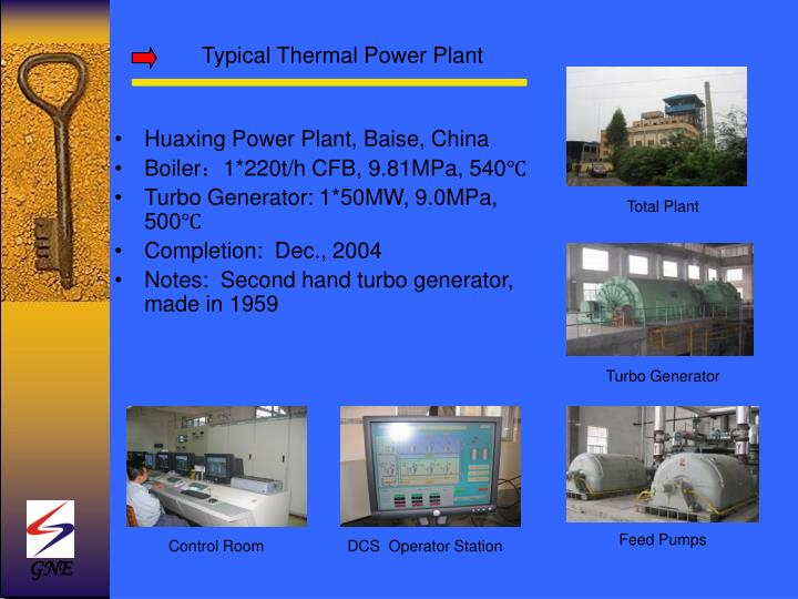 Typical Thermal Power Plant