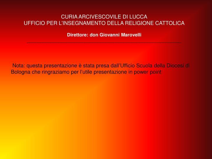 CURIA ARCIVESCOVILE DI LUCCA