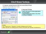 cav4 nowe funkcje20