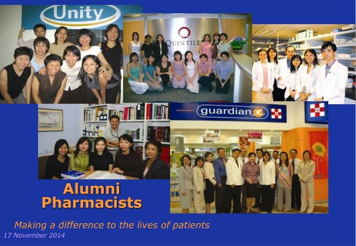 Alumni Pharmacists