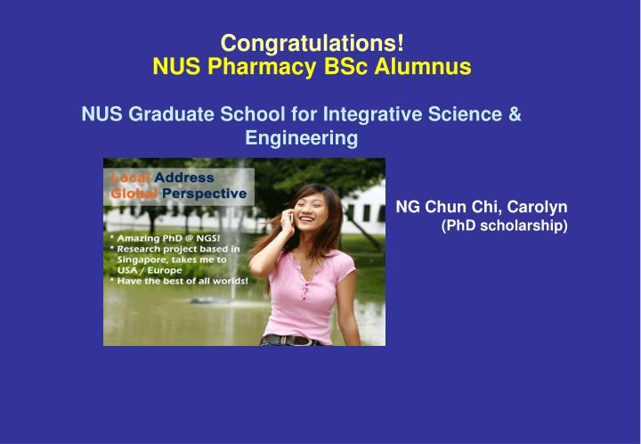NUS Graduate School for Integrative Science & Engineering