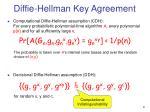 diffie hellman key agreement1
