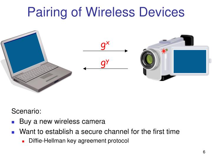 Pairing of Wireless Devices