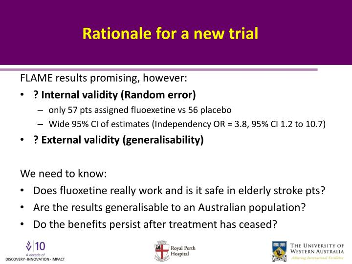 Rationale for a new trial