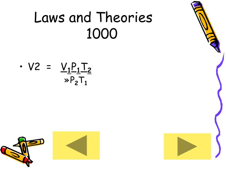 Laws and Theories     1000