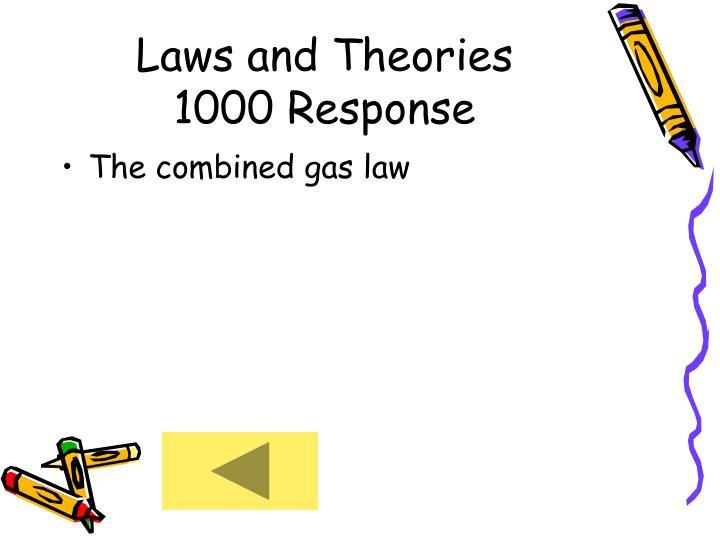 Laws and Theories