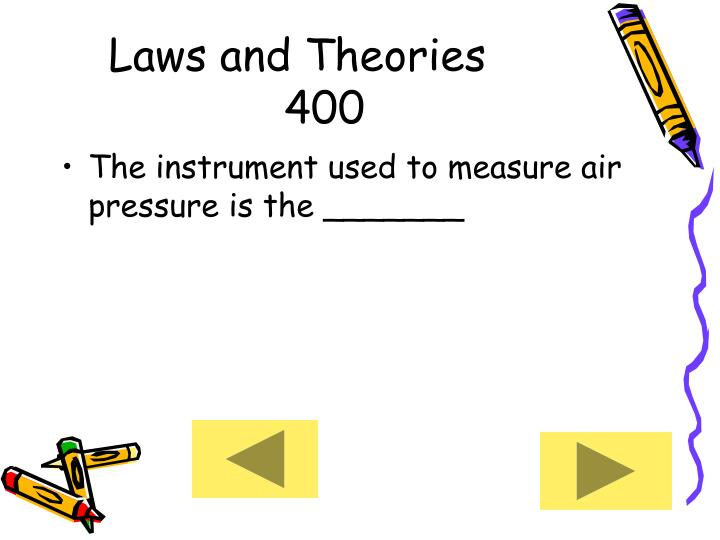 Laws and Theories     400