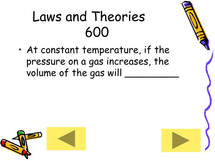 Laws and Theories     600