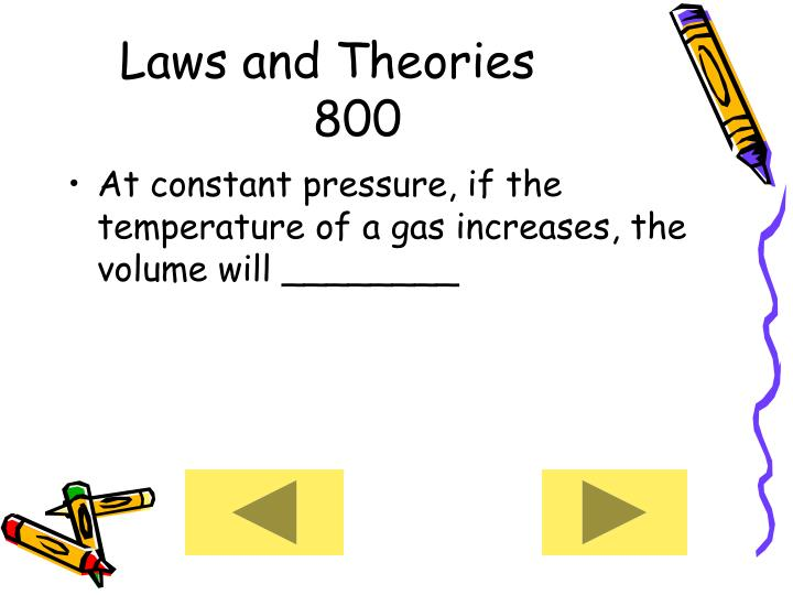 Laws and Theories     800