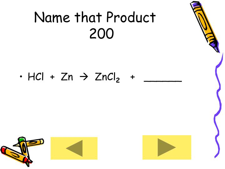 Name that Product      200