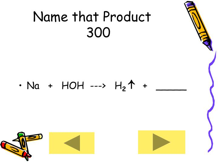 Name that Product      300
