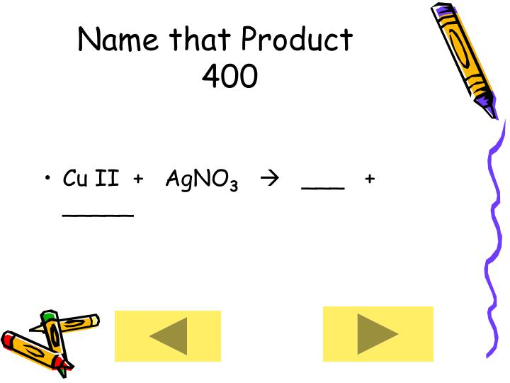 Name that Product      400
