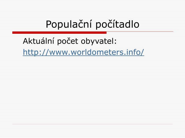 Populační počítadlo