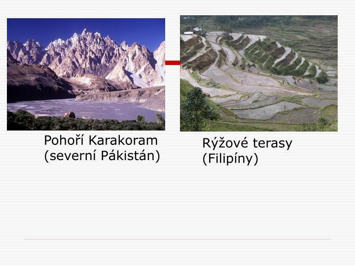 Pohoří Karakoram (severní Pákistán)