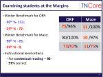 examining students at the margins