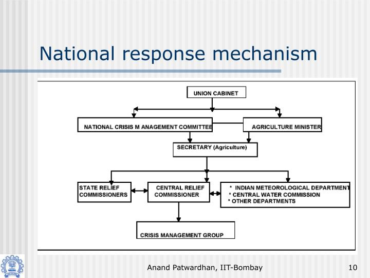 National response mechanism